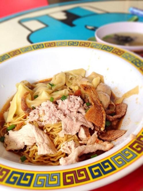 Βak Chor Mee (Minced Meat noodle)