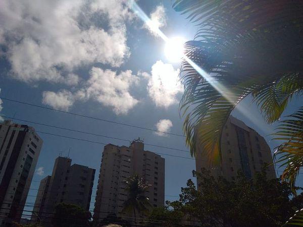 Previsão aponta máxima de 34º C no Sertão de Alagoas