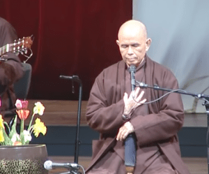 Thich Nhat Hanh at the Bell
