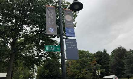 After four year project, university gets new signs