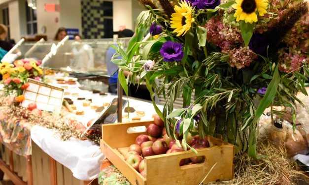 Harvest season: dining services hosts fall food fest