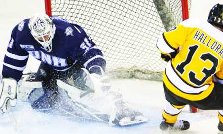 Men's Hockey: High intensity at double-header in Colorado
