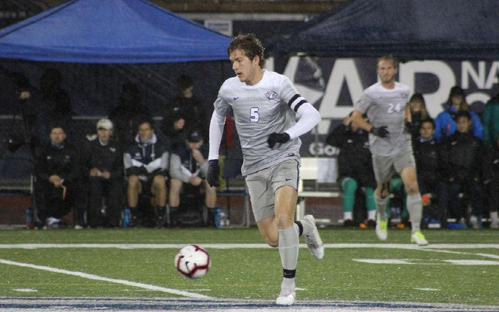 Men's soccer shocked by Binghamton