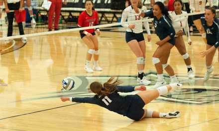 Volleyball loses to Stony Brook, sweeps Hartford
