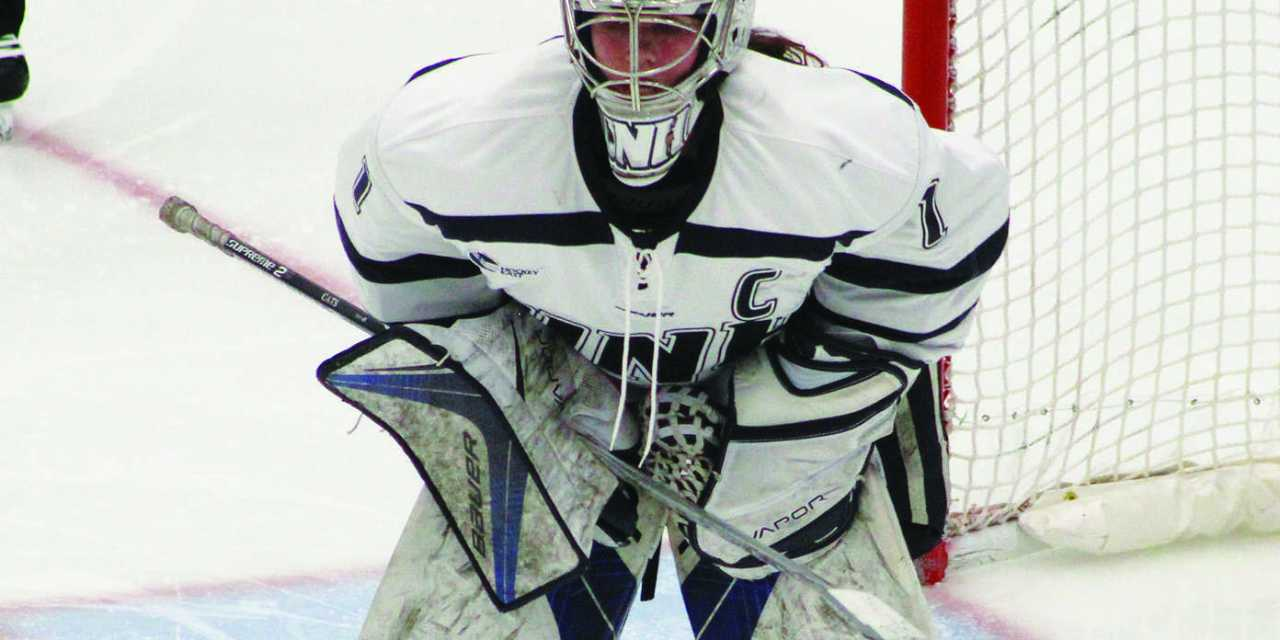 Smith's saves not enough vs. Huskies