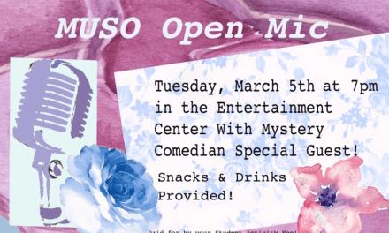 Comedian Matt Shore's career shift into comedy proves delightful at MUSO open mic