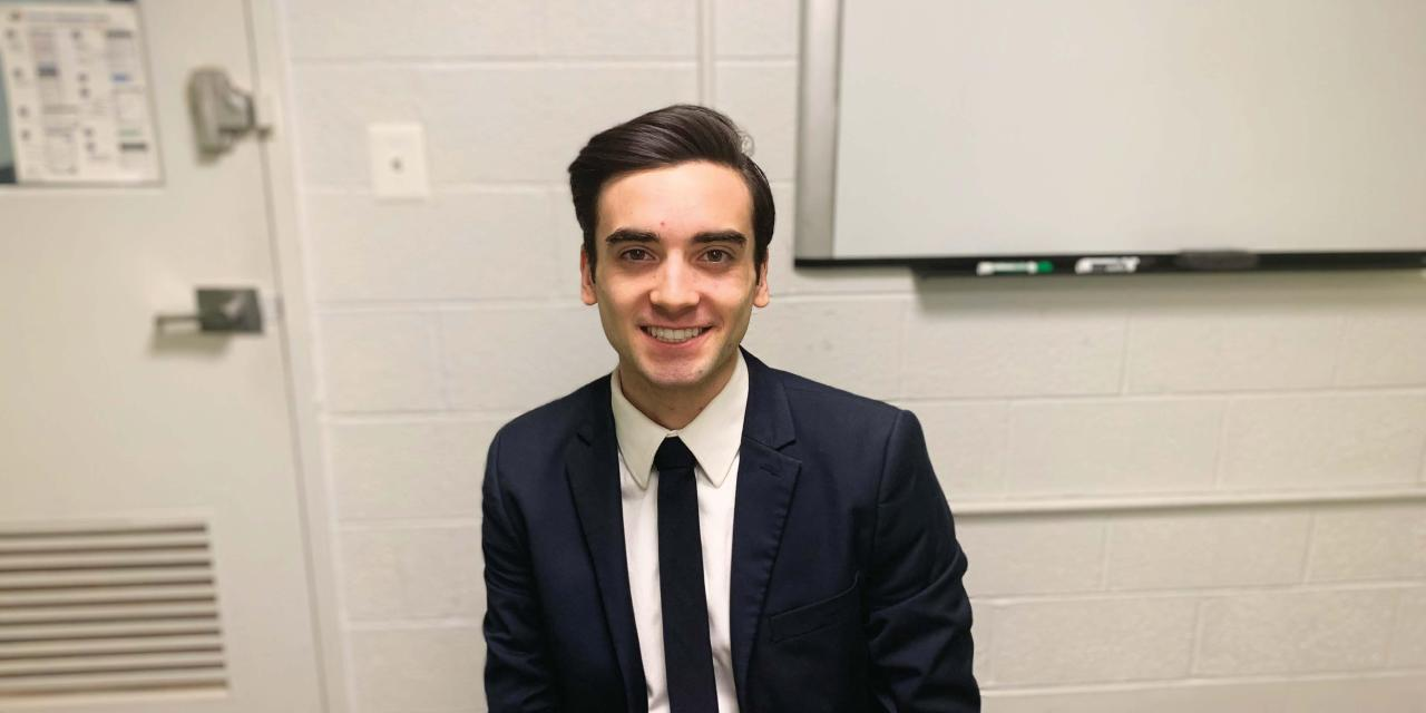 On the Spot with Student Trustee Candidate Liam Sullivan
