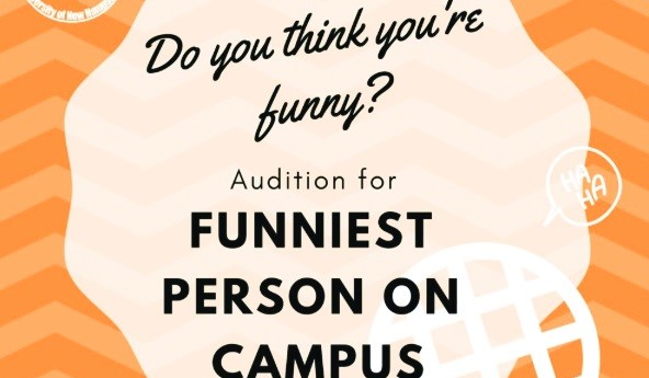 Funniest person on campus seeks best UNH jokesters