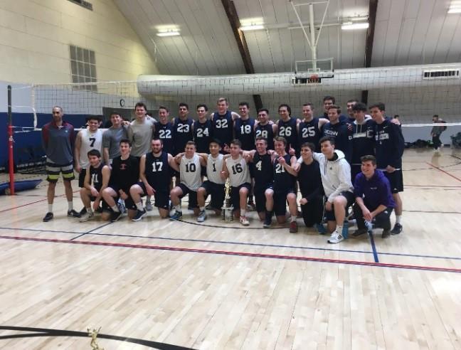 UNH men's club volleyball hosts regionals; UConn wins