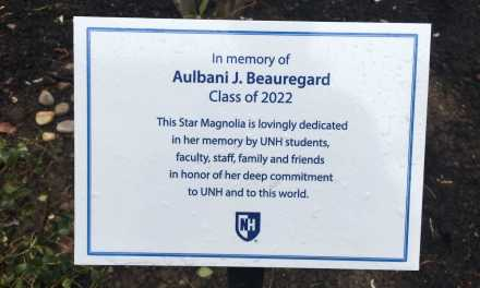 "Aulbani ""AJ"" Beauregard remembered with star magnolia"