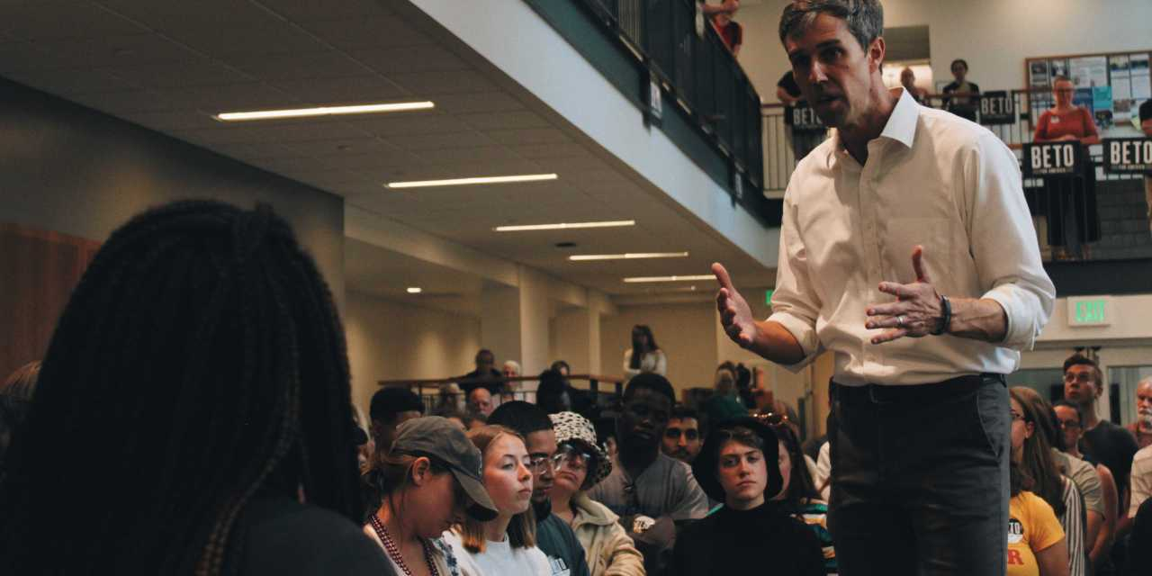 O'Rourke stands for students at Ham Smith
