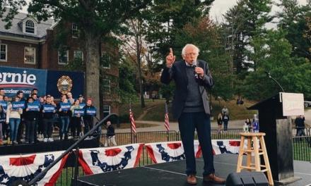 Sanders concludes NH tour in Durham