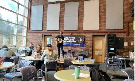 UNH alumnus, employee performs at Union Court
