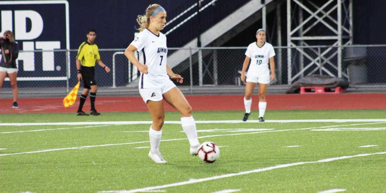 Women's soccer edges out UVM