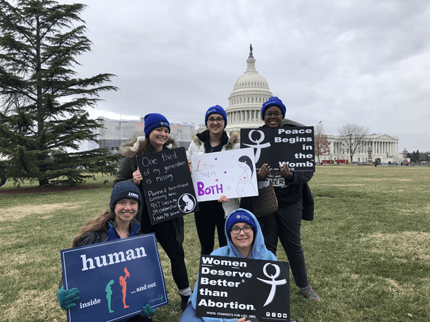 Students attend March for Life
