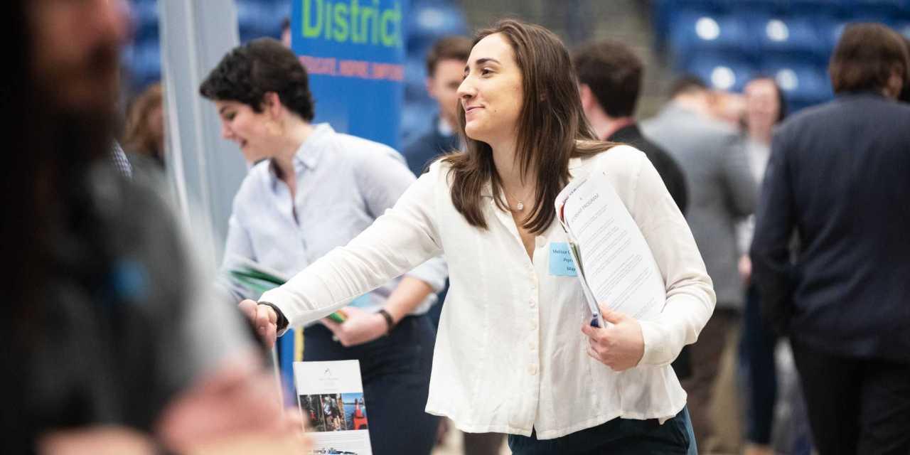 Semi-annual Career and Internship Fair brings in 1500 students
