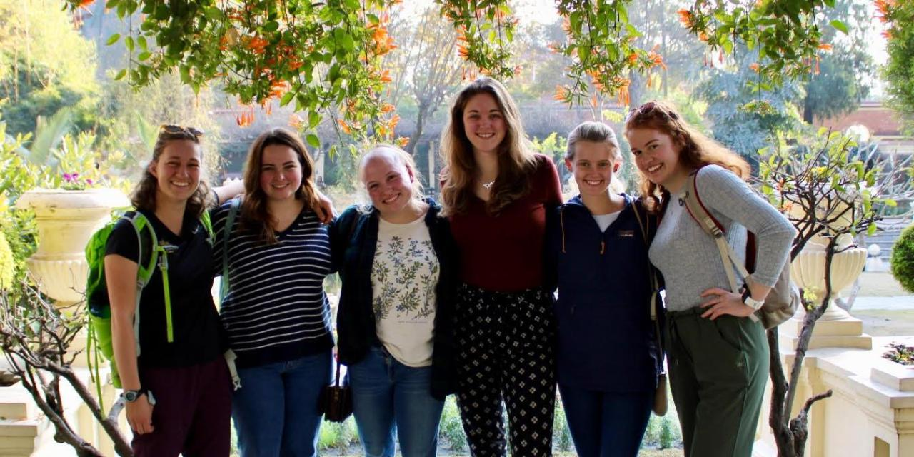 UNH Students for Global Health journeys to Nepal