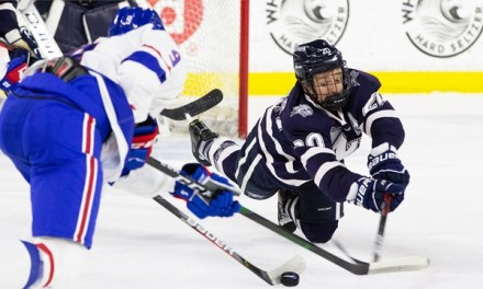 'Cats tie in Lowell after giving up late penalty