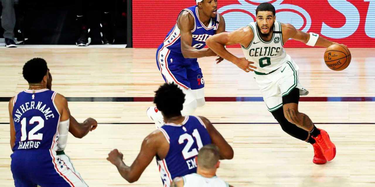 Celtics draw Raptors after sweeping 76ers