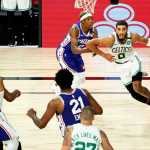 Celtics draw Raptors after sweeping 76ers