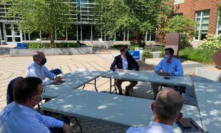 Pappas discusses COVID-19 concerns with UNH administrators