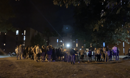 University-organized fire sparks social distancing concerns