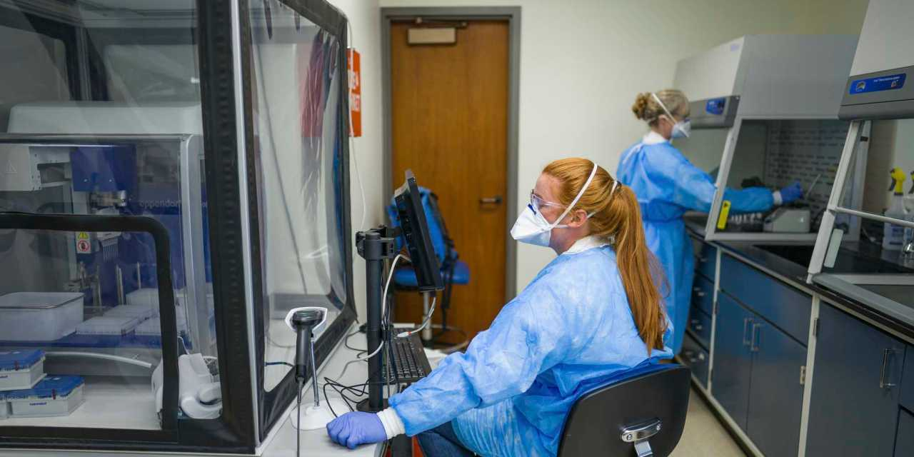UNH unveils new COVID-19 lab, tests 4,000 daily