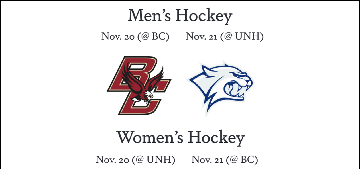 Men's and women's hockey schedules released