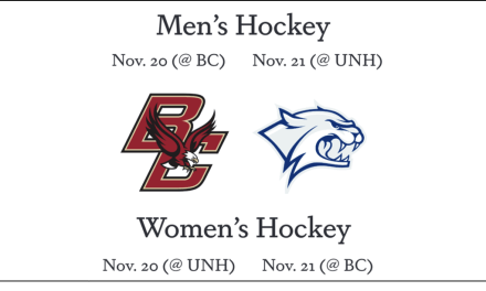 Men's and women's hockey schedules released