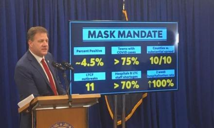 Gov. Sununu issues Statewide Mask Mandate