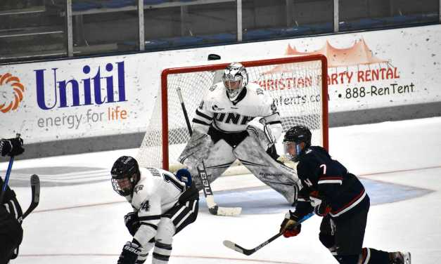 UNH down six players, get swept by UConn