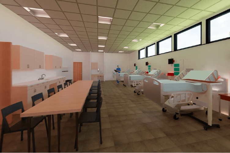 UNH builds simulation center to address healthcare worker shortages
