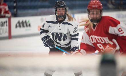 Junior Emily Rickwood helping lead UNH to the postseason