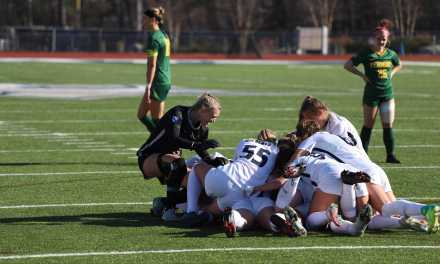 Mayer scores game-winner in double overtime