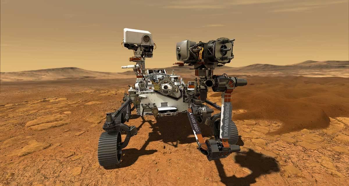 NASA's rover Perseverance makes history