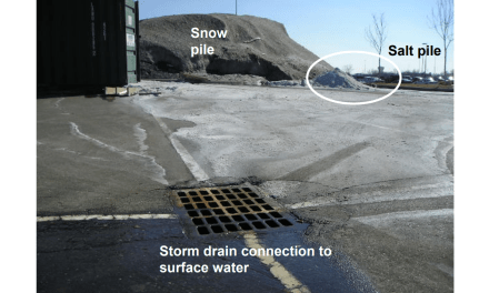 Winter salt use negatively affects environment
