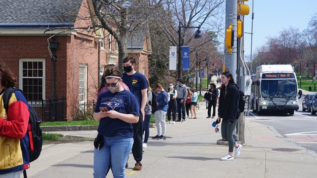 UNH hosts vaccine clinic for out-of-state students