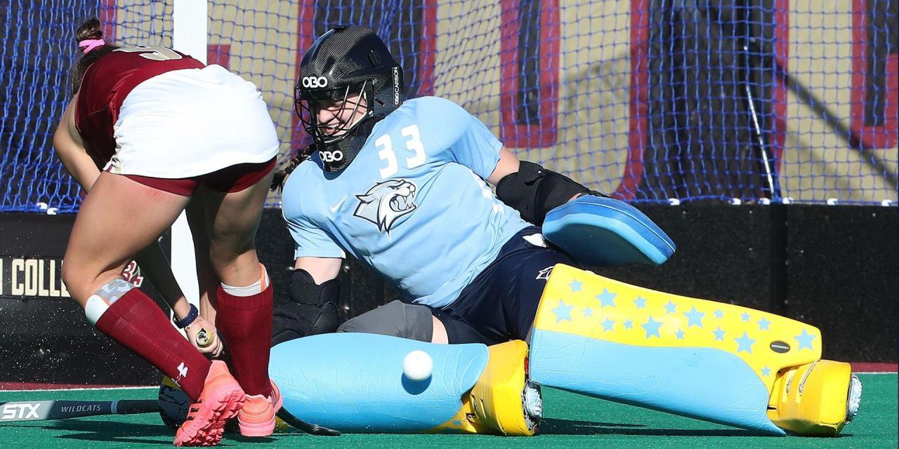 UNH field hockey: Woods stars for Wildcats in opening weekend split