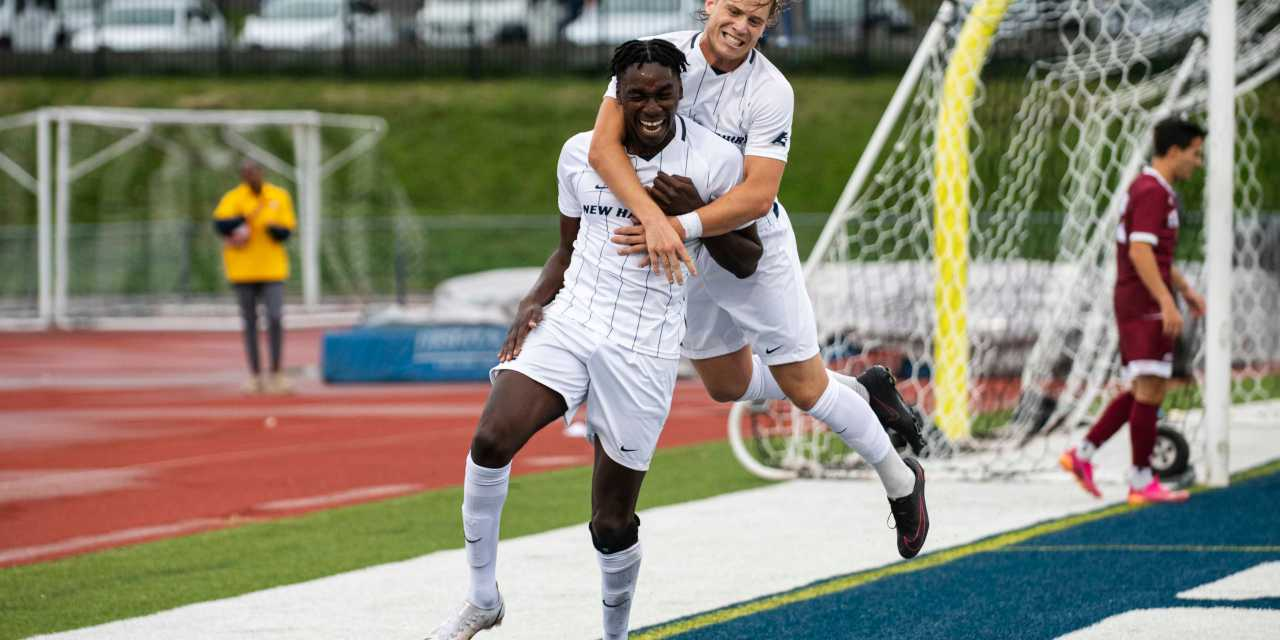 UNH men's soccer: A new tandem emerges for the No. 20 Wildcats