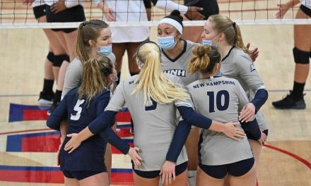 UNH volleyball looking to take next step in Feliciano's third season as head coach