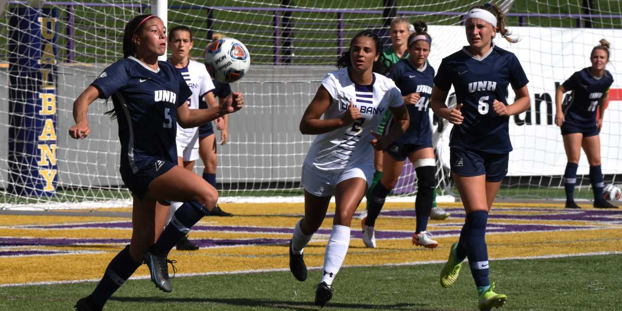 UNH women's soccer: Wildcats escape UAlbany with a draw to conclude four-game road trip