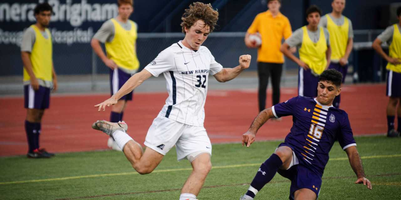 UNH men's soccer: No. 9 Wildcats remain unbeaten after two more goals from O'Driscoll