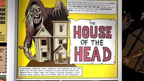 I legit want a copy of this fictional 'Creepshow' horror comic.