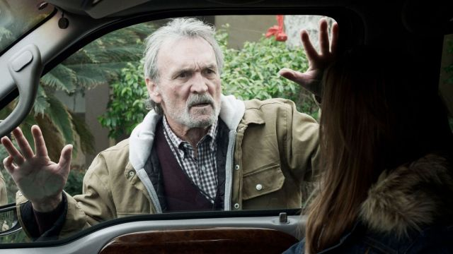 Gary (Muse Watson) is astounded to see his son and fiancee arrive at his home in 'Compound Fracture'