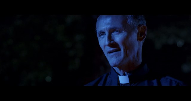 Colm Feore as Father Roman in 'Beast Within'