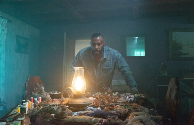 Marquis (Omari Hardwick) makes a sinister discovery in 'Spell'
