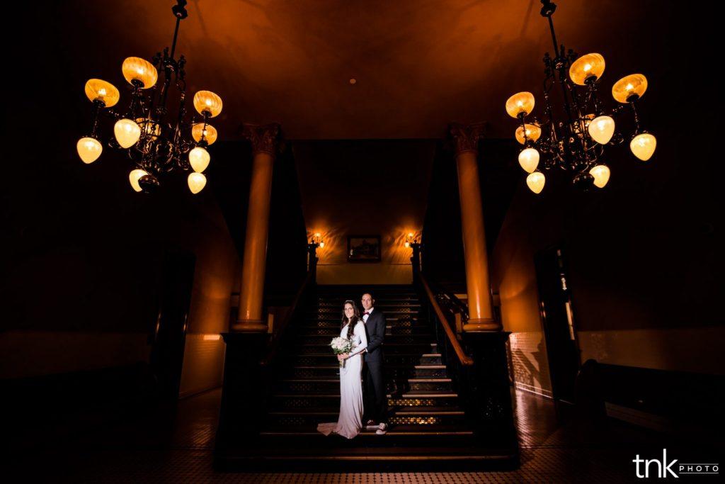 Old orange county courthouse wedding photos