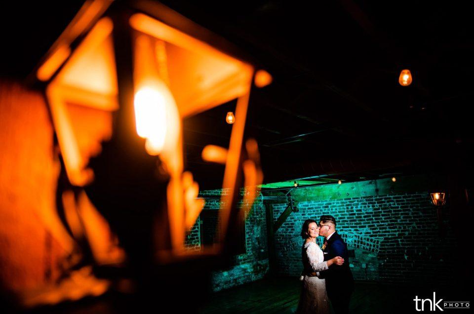mitten building wedding photographer