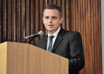 Radu Cristian, co-președintele TNL Alba, şi-a anunţat intenţia de a candida la Primăria municipiului Sebeş