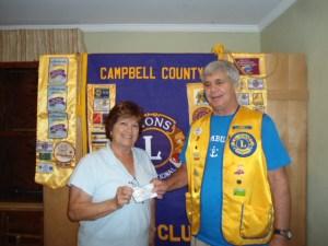 2013-08 Sue Vernick Membership Contest